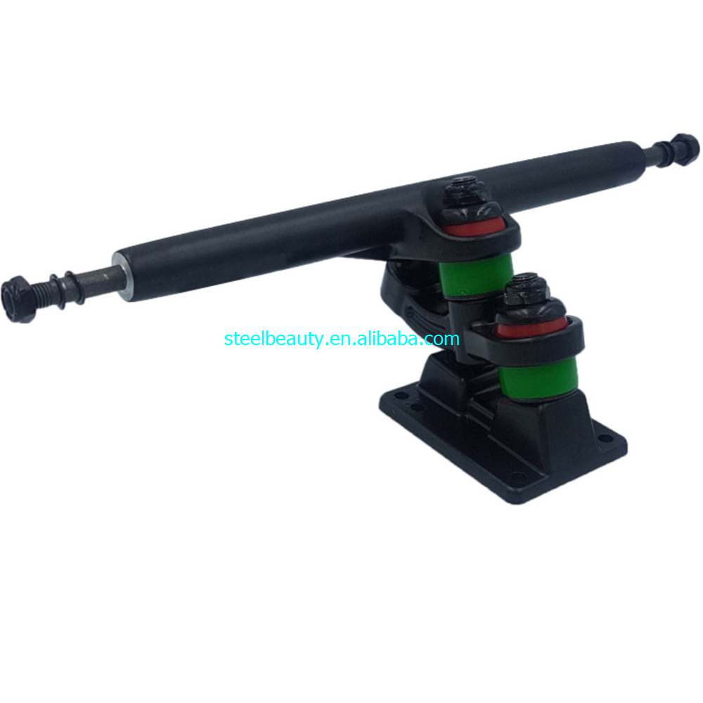 1 Piece Only Double Floor Longboard Trucks 7inch 9.25inch Used For Matching Electric Skateboards Gravity Casting Good Quality