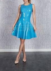 Latex Rubber Dress WOMEN SEXY SUMMER DRESS