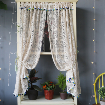 Boho Macrame Curtains