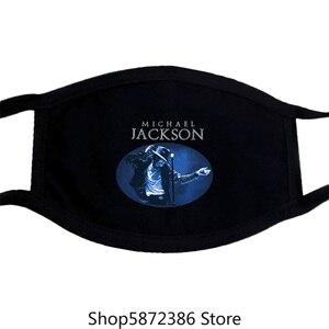 MICHAeL Jackson classique Image scène PIC bleu marine masque nouveau Merch