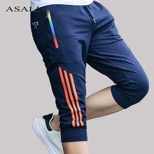 Verão casual listrado shorts men jogger zíper calças curtas dos homens na altura do joelho joggering venda quente shorts masculino moda esportiva