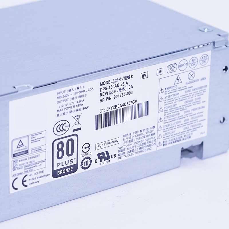 New Original PSU For HP 600G3 400G5 Power Supply DPS-180AB-26 A DPS-180AB-30 A DPS-180AB-3 A PCH019 PCH021 PA-1181-3HB PCC005 5