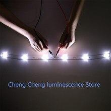 1 סט = 2pcs חדש עבור NUOVA LED תאורה אחורית רצועת JS D JP3220 061EC XS D JP3220 061EC E32F2000 MCPCB 58.5CM 6V 100% חדש