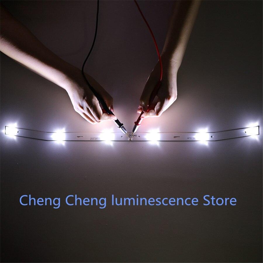 1Set=2pcs New For NUOVA LED Backlight Strip JS-D-JP3220-061EC XS-D-JP3220-061EC E32F2000 MCPCB   58.5CM  6V  100%NEW