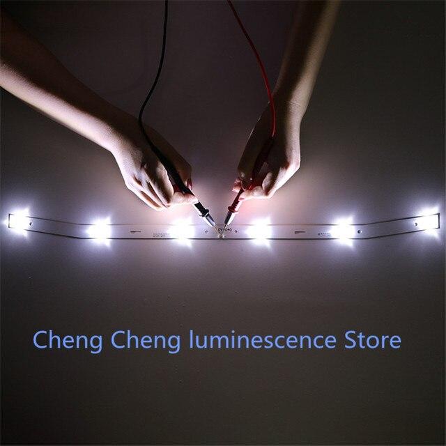 1Set = 2pcs Nuovo Per NUOVA Striscia di Retroilluminazione A LED JS D JP3220 061EC XS D JP3220 061EC E32F2000 MCPCB 58.5 CENTIMETRI 6V 100% NUOVO