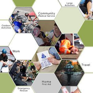 Image 5 - BearHoHo pratique trousse de premiers soins sac léger durgence médical sauvetage en plein air voiture bagages école randonnée Kits de survie