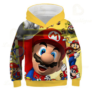 Image 4 - Children Hoodies Fashion Style Print Baby Hooded Sweatshirt Kids Jacket Boys Girs Coats Costumes Drop Shipping