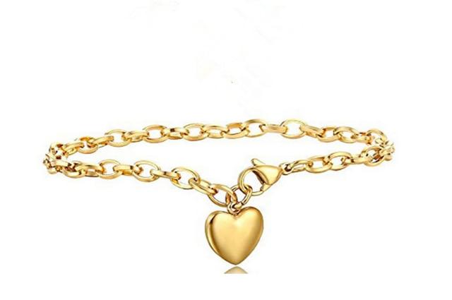 Love Heart Chain Bracelets  2