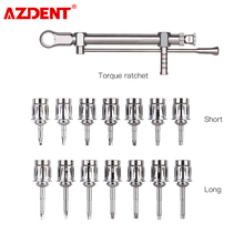 Dental Implant Torque Wrench Ratchet 10-70NCM with Screwdriver Repair Tools Drivers & Wrench Kit