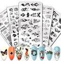 Николь дневник ногтей штамповки пластины Рождество Снежинки Дизайн ногтей пластина из нержавеющей стали штамп шаблон для печати трафаретн...