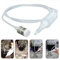 Küche Kunststoff Filter Brauen Siphon Pack für DIY Wein  Der Weiß Vintage Hand Kneten Siphon Filter Rohr Werkzeug-in Weinherstellung aus Heim und Garten bei