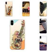 Bass Guitar Strings Music For Xiaomi Redmi mi10 lite Pro Note 9 PRO Max 9s Mi9 K30 K20 Pro 5G New Personalized Print Phone Case(China)