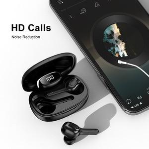 Image 2 - GOOJODOQ 5.0 écouteurs sans fil étanche TWS HiFi 6D stéréo Bluetooth casque avec double micro 3rd génération Auriculares