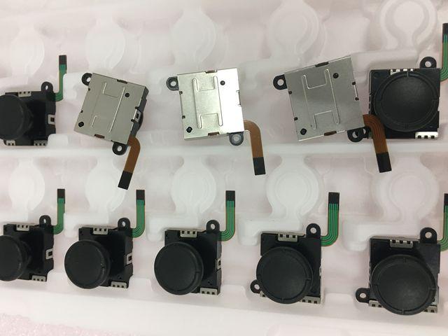 משלוח חינם תוצרת סין באיכות טובה נבדק עבור Nintend מתג עבור NS מתג joycon בקר 3d אנלוגי מקל 2 סוגים