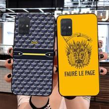 CUTEWANAN French Paris brand Faure Le Page Soft Phone Case f