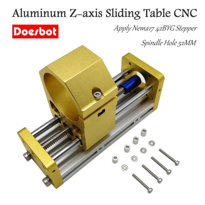 CNC 3018 Aluminum Z-axis Sliding Table Apply Nema17 42BYG Stepper