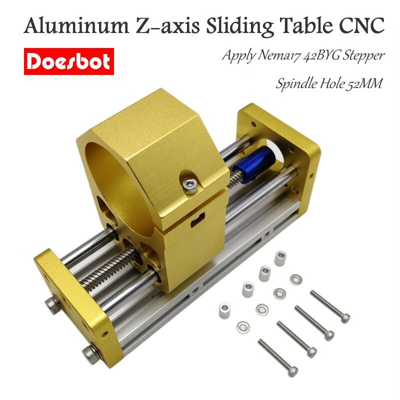 CNC 3018 алюминиевый z осевой раздвижной стол применить Nema17 42BYG шаговый Запчасти для деревообрабатывающих станков      АлиЭкспресс