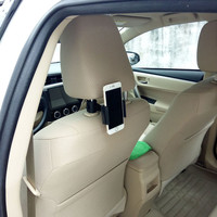 자동차 전화 홀더 자동차 뒷좌석 헤드 레스트 게으른 브래킷 360 회전 조절 자동차 액세서리 제품|유니버설 차 지지대|자동차 및 오토바이 -
