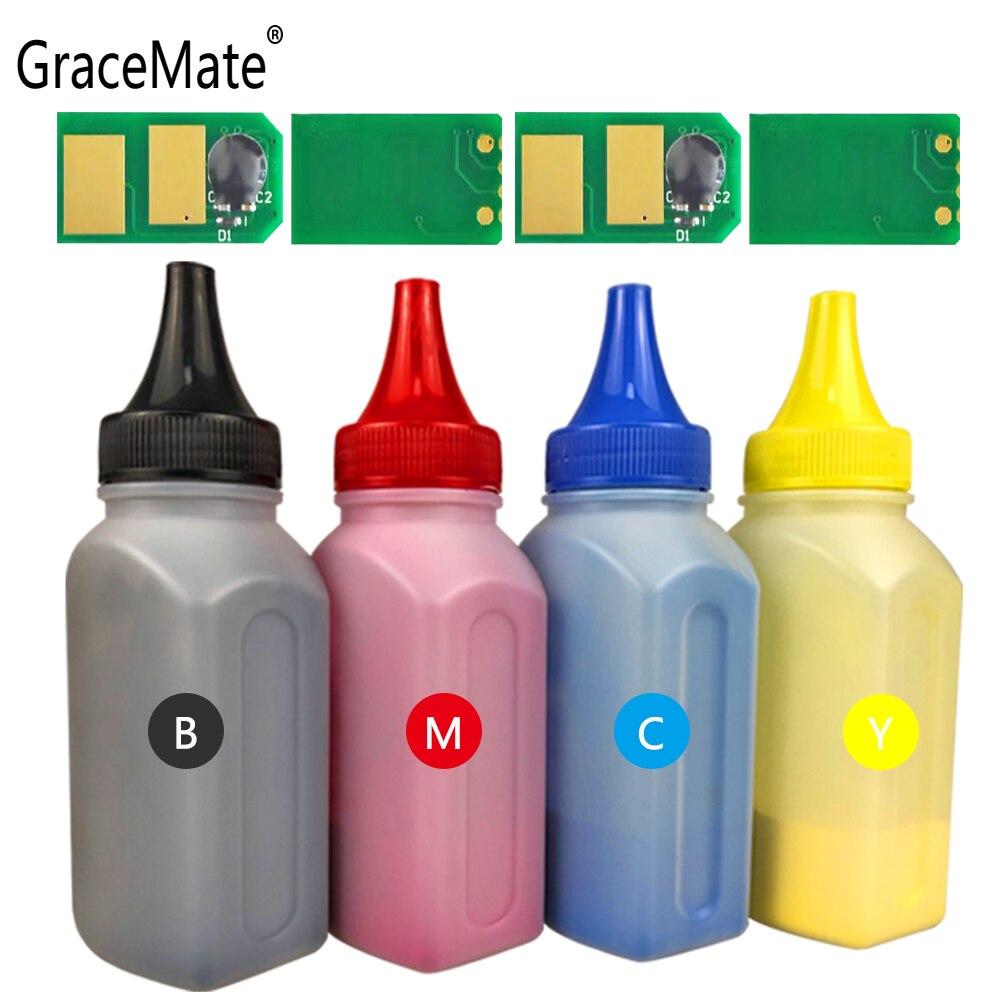 Gracemate リフィルトナーチップ用互換 oki ため C530 C510 MC561 C531 C511 MC562 プリンタの色トナー粉末