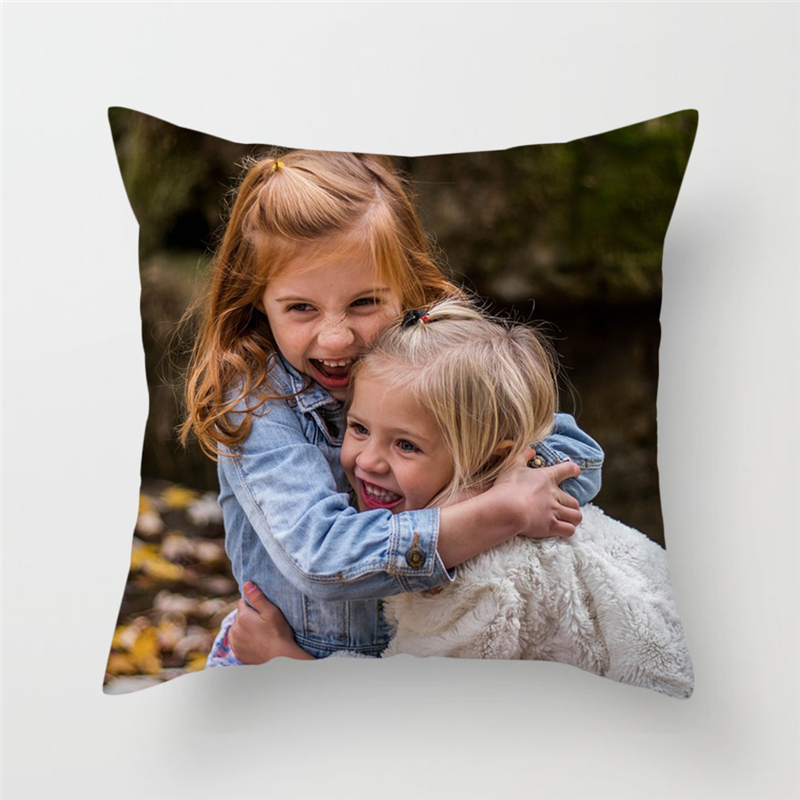 Fuwatacchi Custom Cushion Cover DIY Customized Throw Pillow Home Decorative Square Printing Pillowcase Sofa Cushion 45