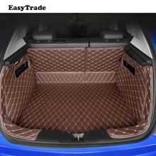 Car Trunk Mats Liner Carpet Guard Protector For KIA Sportage QL 2019 2018 2017 2016 Car Styling Accessories interior floor mats for kia sportage 2006 2010 rugs non slip polyurethane dirt protection interior car styling accessories