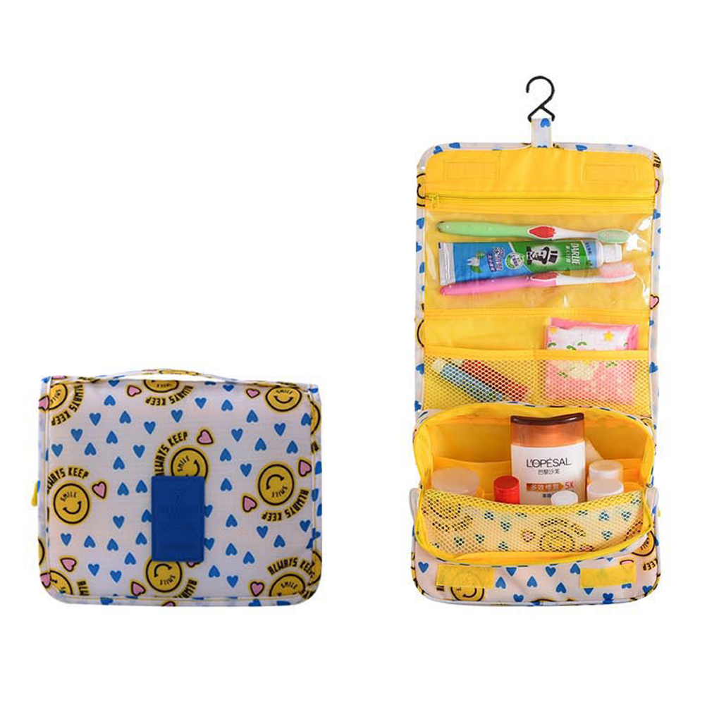 Travel Cosmetic Toiletry Bag Case Portable Storage Pouch Hanging Bag