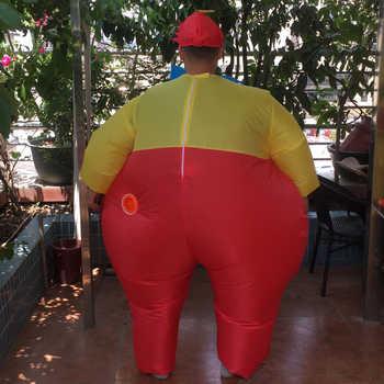 インフレータブル Dumm ディー衣装大人脂肪の弟インフレータブルフルボディスーツハロウィンウォーキングコスプレパーティーファンシードレス衣装