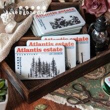 SKYISLE Atlantis mystery manor sponge foam seal retro web celebrity ins botanical diy rubber ornament