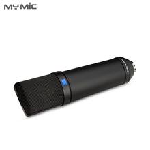 U87B profesjonalna duża membrana skraplacza nagrywania studyjnego mikrofon do komputera Podcast Voice Record tanie tanio MY MIC Mikrofon ręczny Mikrofon pojemnościowy Mikrofon komputerowy NONE Pojedynczy mikrofon CN (pochodzenie) Kardioida