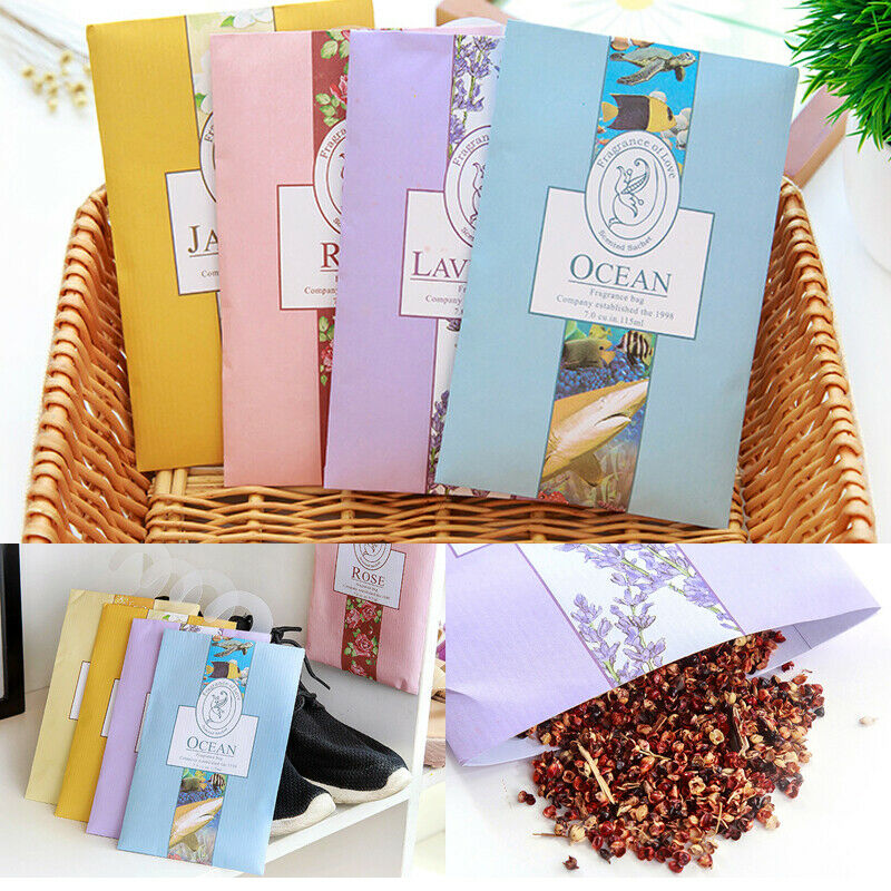 Portable Aromatherapy Bag 1 Pcs Scented Drawer Sachet Air Freshener Pot Pourri Fragrance Fresh Scent Sorghum Rice Husk Closet