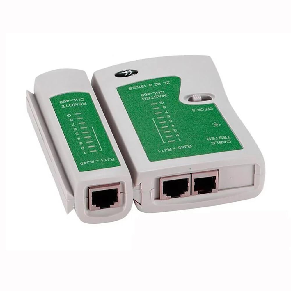 OULLX RJ45 Kabel lan tester Netwerk Kabel Tester RJ45 RJ11 RJ12 CAT5 UTP LAN Kabel Tester Networking Tool netwerk Reparatie 2