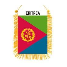 Eritreia dupla face mini preto-para fora pendurado bandeiras de alta qualidade impresso bandeira decoração para casa banner