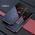 Ультра тонкий металлический каркас для zte Nubia X чехол жесткий алюминиевый бампер чехол для zte Nubia X NX616J телефон