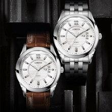LOBINNI Top MIYOTA Mens Mechanical For Rolexable Switzerland Luxury Brand relojes hombre Business Leather Men Watch Clock