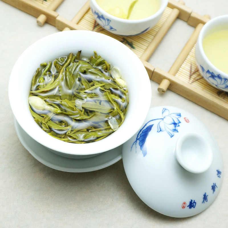 2019 ดอกมะลิจีนดอกไม้สีเขียวชาจริงอินทรีย์ New Early Spring ชาจัสมินสำหรับลดน้ำหนักสีเขียวอาหาร Health Care