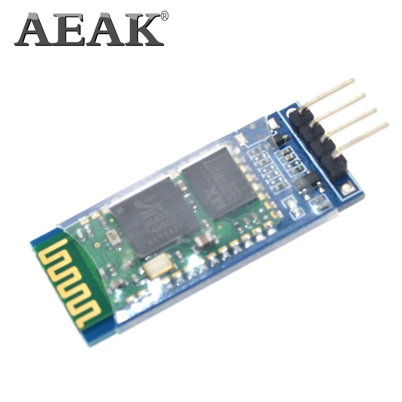 AEAK <font><b>hc</b></font>-<font><b>06</b></font> <font><b>HC</b></font> <font><b>06</b></font> RF Wireless Bluetooth Transceiver Slave Module RS232 / TTL to UART converter and adapter image