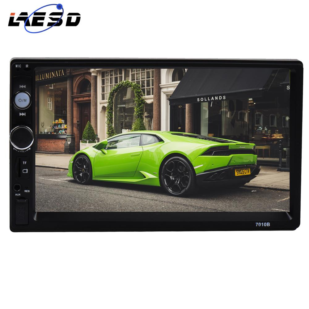"""LAESD 2 din Autoradio 7 """"HD écran tactile Autoradio multimédia MP5 lecteur Autoradio Bluetooth USB TF FM 7010b Radio doble din"""