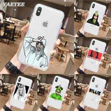 Luxury Billie Eilish Phone Case for iPhone 11 Pro X XR XS MAX SE 2020 11 7 8 Plus 6 6s 5 5s 7+ 8+ TPU Soft Cover lavaza ybn nahmir soft case for apple iphone 6 6s 7 8 plus 5 5s se x xs max xr tpu cover