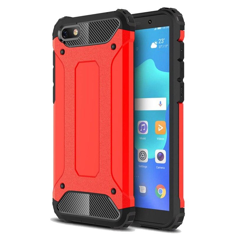 Coque de téléphone antichoc en Silicone de luxe pour coque de DUA-L22 Honor 7A Huawei Y5 2018 housse de protection robuste pour coque de protection Honor 8a 7A
