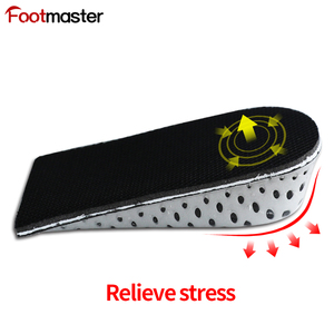 Shoes Increase Insole Heel Height Lift Elevator Air Cushion Pad Half Insert 2 Removable Layer 1.3inches Taller for Unisex Adult