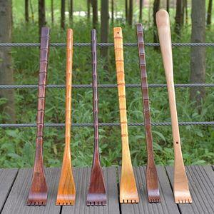 1Pc Long Natural Wood Back Scr