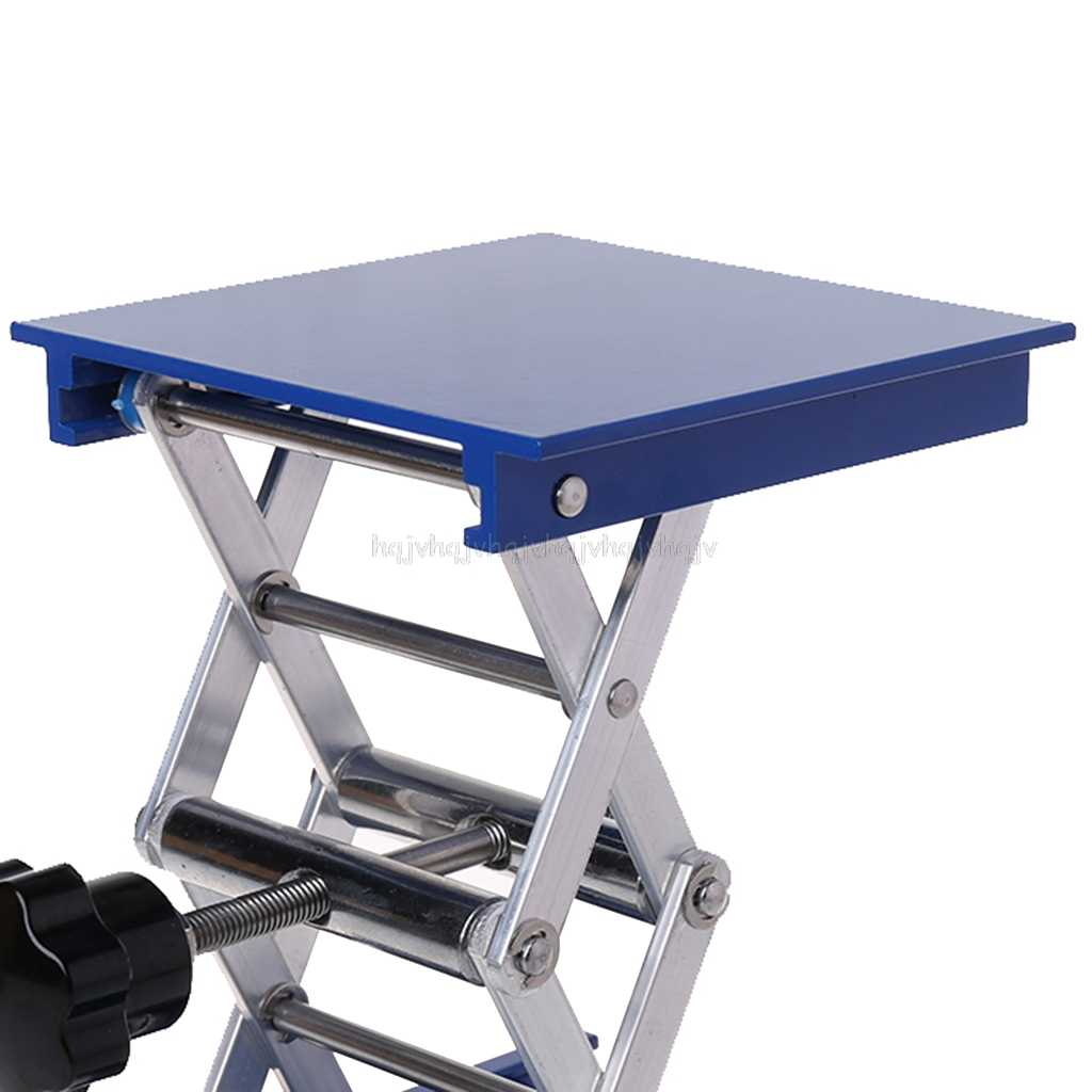 VS2#  Aluminum Router Lift Table Woodworking Engraving Lab Lifting Stand Rack