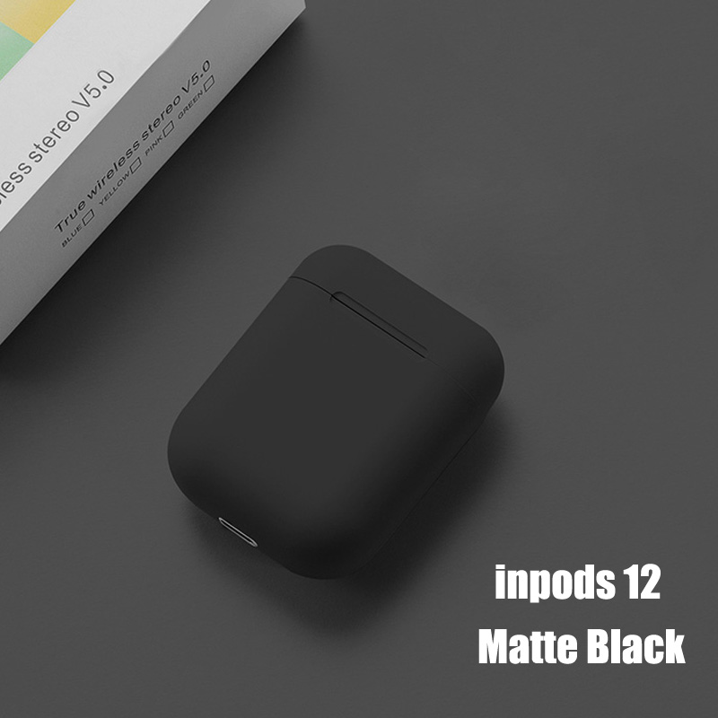 Inpods 12 TWS Wireless Bluetooth Earphone Pop-up Headphone Touch Portable Earbuds I12 TWS Earphone