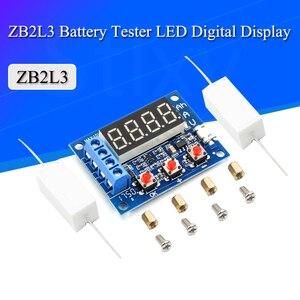 ZB2L3 Батарея Тесты er светодиодный цифровой Дисплей 18650 Литий Батарея Питание Тесты сопротивления свинцово-кислотная Ёмкость Измеритель Расх...