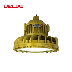 DELIXI BLED62 LED explosion proof light 120W 160W High Power AC 220V IP66 WF1 Warehouse Lights Circular industrial lamp