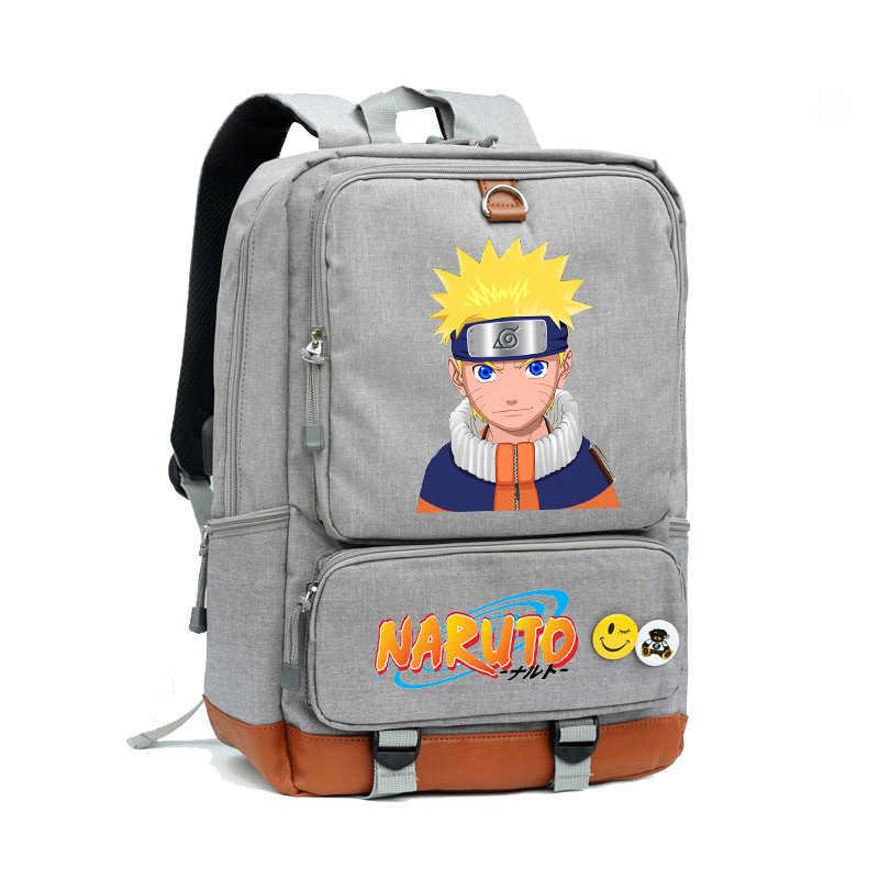 ナイロン火影うずまきナルトコスプレアニメ漫画ナルト通学サッチェルジッパーバックパックナップザックユニセックスショルダーバッグ旅行バッグ