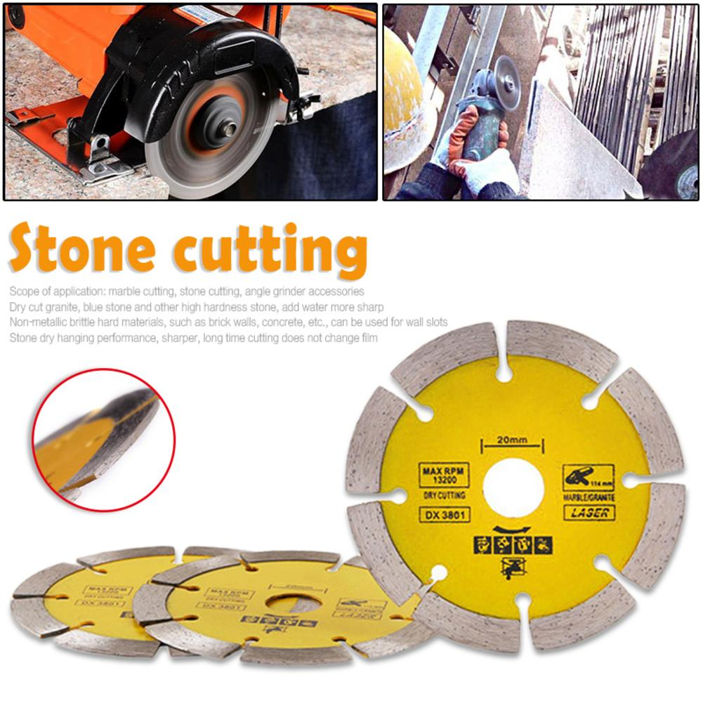 Dry Or Wet Circular Cutting Disc Continuous Rim Diamond Saw Disc Wheel Saw Specialized Stone Cutting Sheet For Angle Grinders