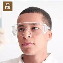 Youpin Blind Gläser Staubdichte Anti nebel Transparent Winddicht Auswirkungen Beständig PC Schutzbrille für Männlich Weiblich