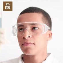 Youpin Blind okulary pyłoszczelne przeciwmgielne przezroczyste wiatroodporne odporne na uderzenia PC okulary ochronne dla mężczyzn kobieta