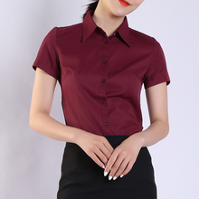 Womens Tops and Blouses Cotton Women Shirts Solid Women Blou
